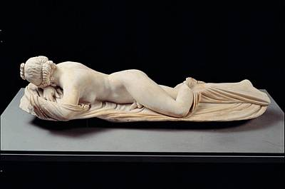 Nude Relief Photograph - Unknown Artist, Sleeping Hermaphrodite by Everett