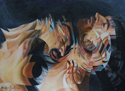 Painting - Unrequited by Ron Richard Baviello