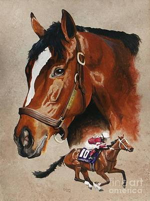 Kentucky Painting - Untapable by Pat DeLong