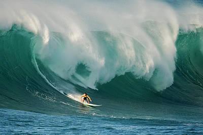 Surf Boards Wall Art - Photograph - Untitled by David H Yang