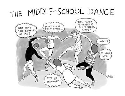 Matisse Drawing - New Yorker March 6th, 2017 by Jason Adam Katzenstein