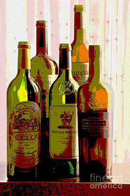 Merlot Mixed Media - Untitled by Jon Neidert