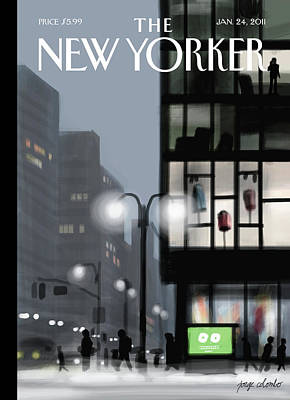 New Yorker January 24th, 2011 Art Print
