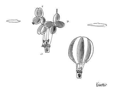 October 3rd Drawing - New Yorker October 3rd, 2016 by Ken Krimstein