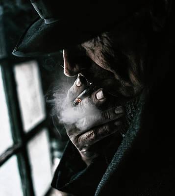 Smokers Photograph - Untitled by Koki Jovanovic