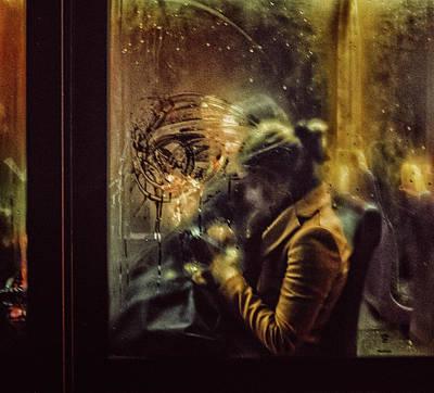 Blur Photograph - Untitled by Maciej Przeklasa