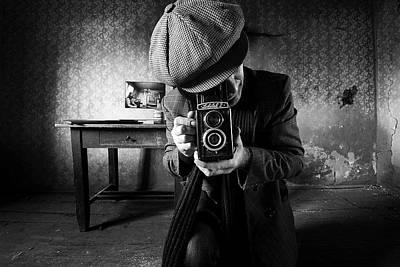 Vintage Camera Photograph - Untitled by Mario Grobenski -