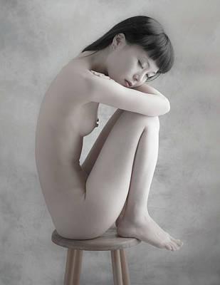 Fine Art Nude Photograph - Untitled by Nobuhiro Ishida