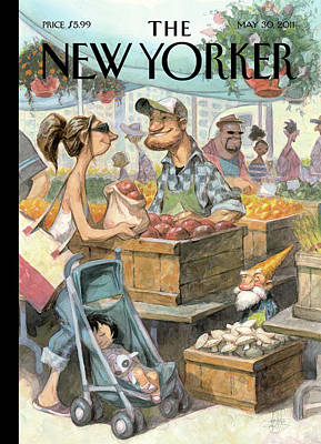 Peter-de-seve Painting - New Yorker May 30th, 2011 by Peter de Seve