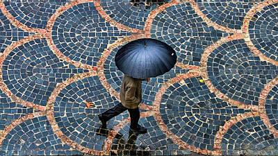 Pattern Photograph - Untitled by Saman Khoshamuz
