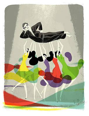 New Yorker November 25th, 2013 Art Print