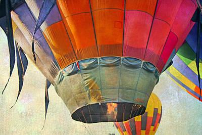 Hot Air Balloon Photograph - Uplifting by Betsy Knapp