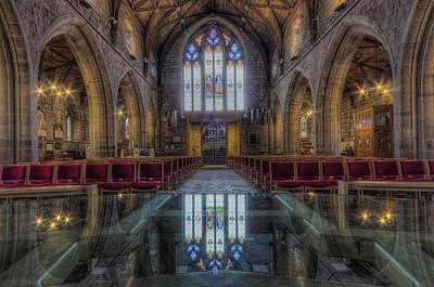 Christian Sacred Photograph - Upon Reflection by Ian Mitchell