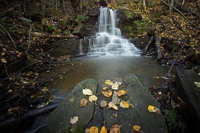 Water Filter Photograph - Upper Little Falls by Jakub Sisak