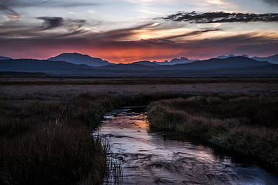 Photograph - Upper Owens Sunset by Cat Connor