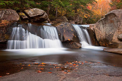 Upper Screw Auger Falls Art Print by Patrick Downey