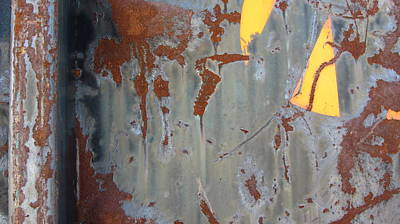 Photograph - Urban Decay Rust 3 by Anita Burgermeister