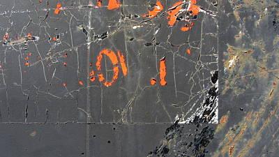 Photograph - Urban Decay Rust 4 by Anita Burgermeister