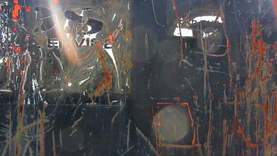 Photograph - Urban Decay Rust 5 by Anita Burgermeister