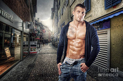 Photograph - Urban Hunk 2.0 by Yhun Suarez
