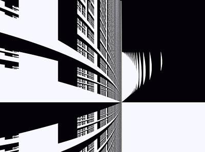Digital Art - Urban by Inna Arbo