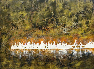 Painting - Urban Omega by Joel Tesch