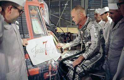 Us Astronaut John Glenn Art Print