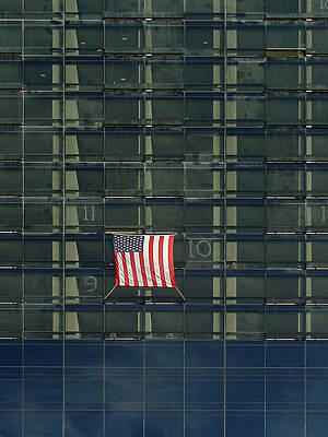Photograph - Us Flag by Mieczyslaw Rudek