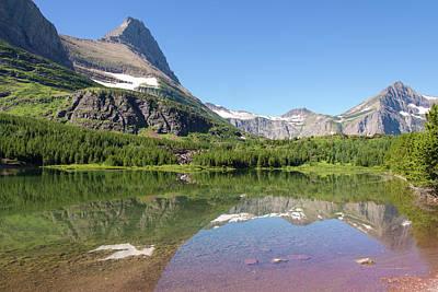 Us, Mt, Glacier National Park Print by Trish Drury