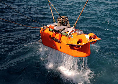 Mcm Photograph - Us Navy Underwater Mine Clearance Drone by Us Navy