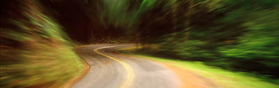 Accelerate Photograph - Usa , California, Marin County, Road by Panoramic Images