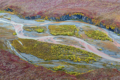 Dalton Highway Photograph - Usa, Alaska, Brooks Range, Arctic by Jaynes Gallery