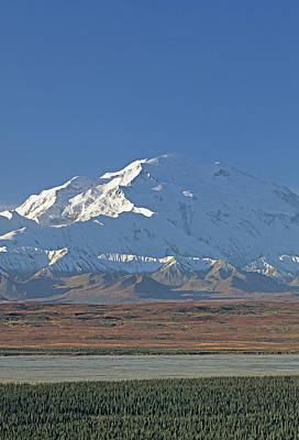 Usa, Alaska, Mount Mckinley, Mckinley Art Print by Gerry Reynolds