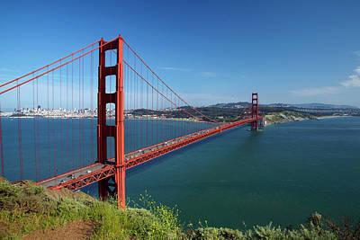 Usa, California, San Francisco, Golden Art Print by David Wall