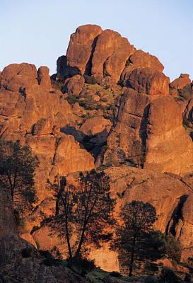 Usa, California, Sunset, High Peaks Art Print by Gerry Reynolds