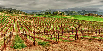 Cellar Photograph - Usa, California, Temecula by Richard Duval