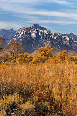 Lone Pine Photograph - Usa, California View Of Lone Pine Peak by Jaynes Gallery