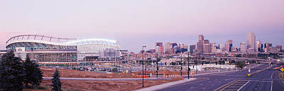 Stadium Scene Photograph - Usa, Colorado, Denver, Invesco Stadium by Panoramic Images