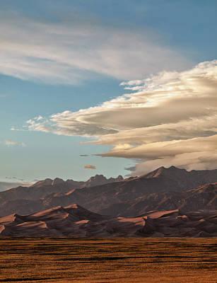 Usa, Colorado, Great Sand Dunes Art Print