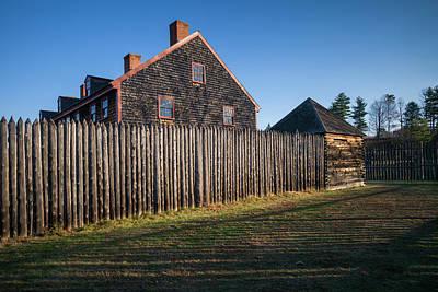 Usa, Maine, Augusta, Old Fort Western Art Print