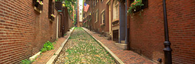 Usa, Massachusetts, Boston, Beacon Hill Art Print by Panoramic Images
