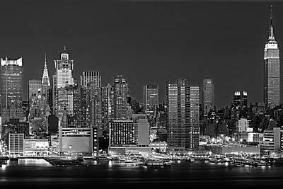 Photograph - Usa, New York, New York City, Panoramic by Panoramic Images