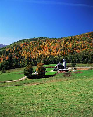 Usa, Northeast Kingdom, Vermont, View Art Print