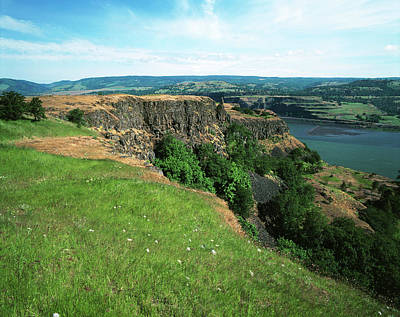 Large Format Photograph - Usa, Oregon, Columbia River Gorge by Adam Jones