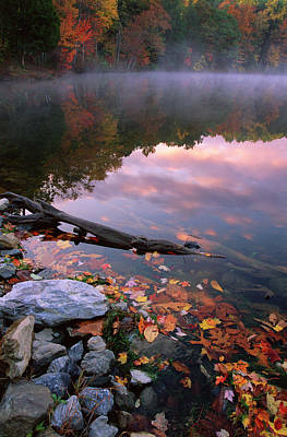 Poconos Photograph - Usa, Pennsylvania, Pocono Mountains by Jaynes Gallery