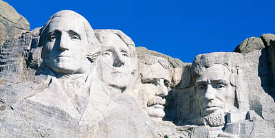 Mount Rushmore Photograph - Usa, South Dakota, Mount Rushmore by Panoramic Images