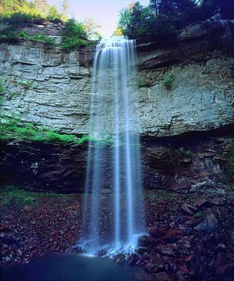 Fall Creek Photograph - Usa, Tennessee, Fall Creek Falls by Jaynes Gallery