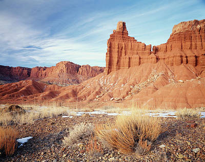 Usa, Utah, Capitol Reef National Park Art Print