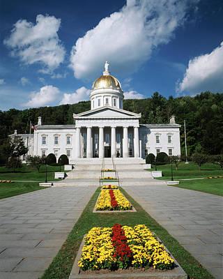 Usa, Vermont, Montpelier, Vermont State Art Print by Walter Bibikow