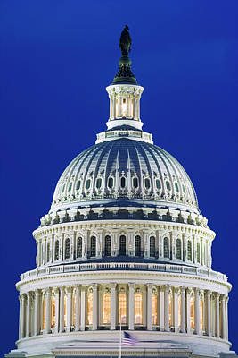 Capitol Building Wall Art - Photograph - Usa, Washington, D by Jaynes Gallery